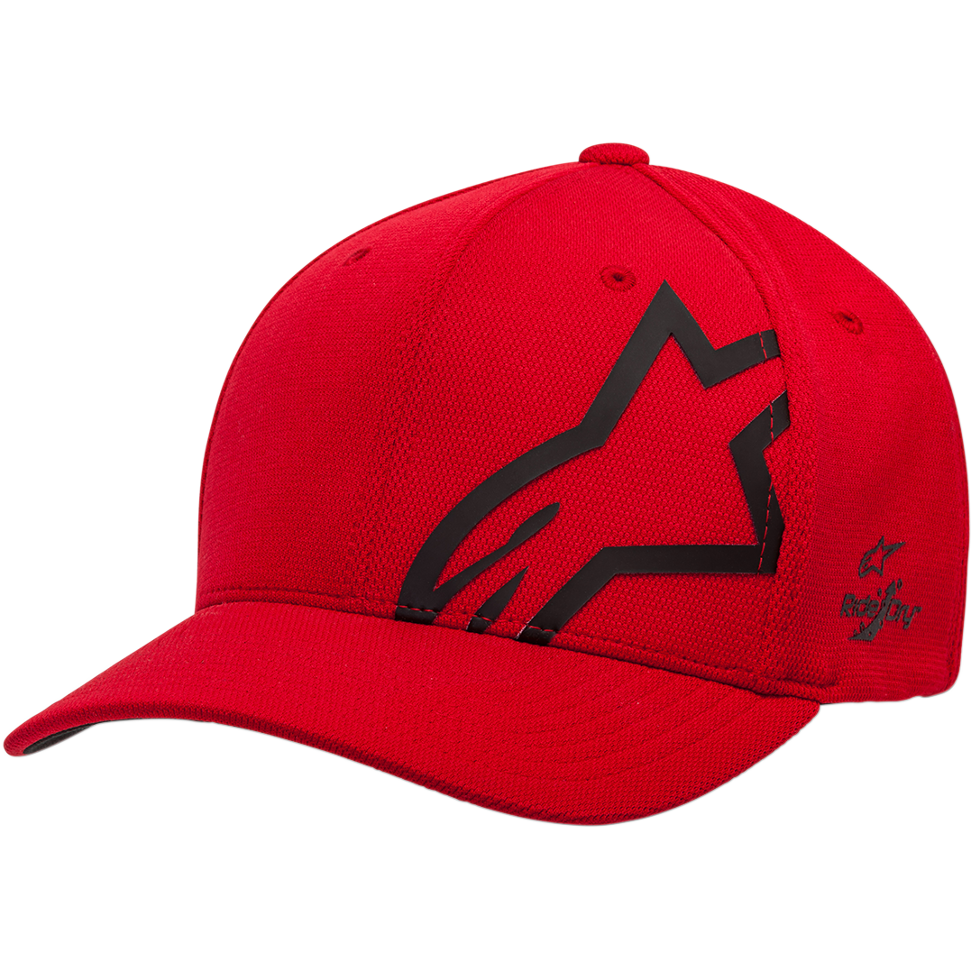 CORP SHIFT SONIC HAT: RED BLACK