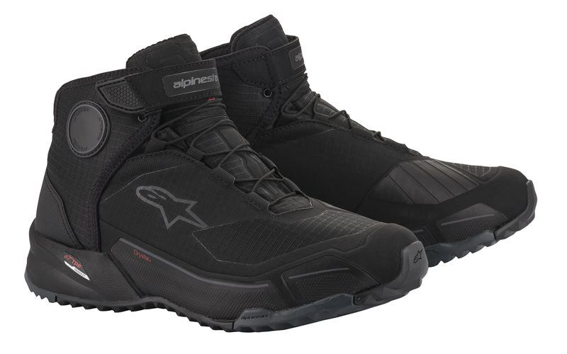 ALPINESTARS CR-X DRYSTAR RIDING SHOES - BLACK