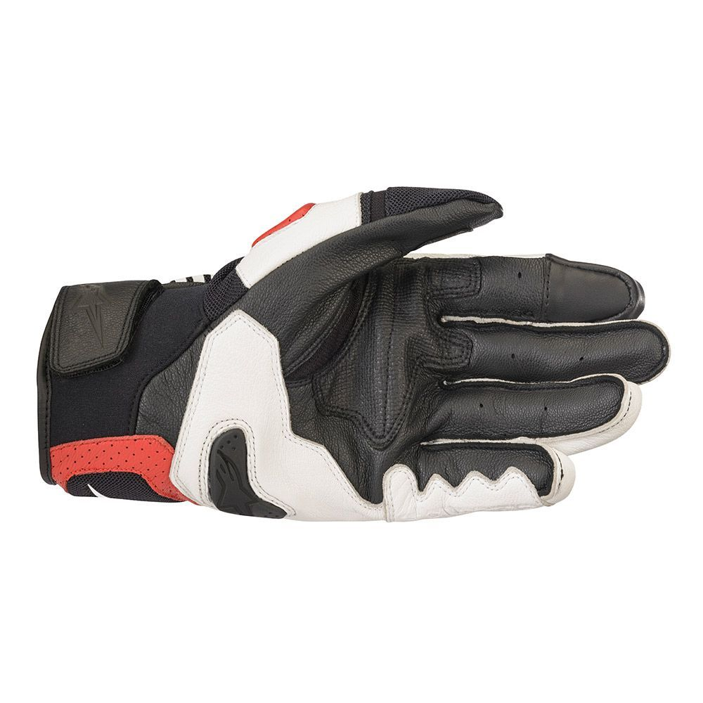 ALPINESTARS SP-X AIR CARBON V2 GLOVE - WHITE BLACK BRIGHT RED