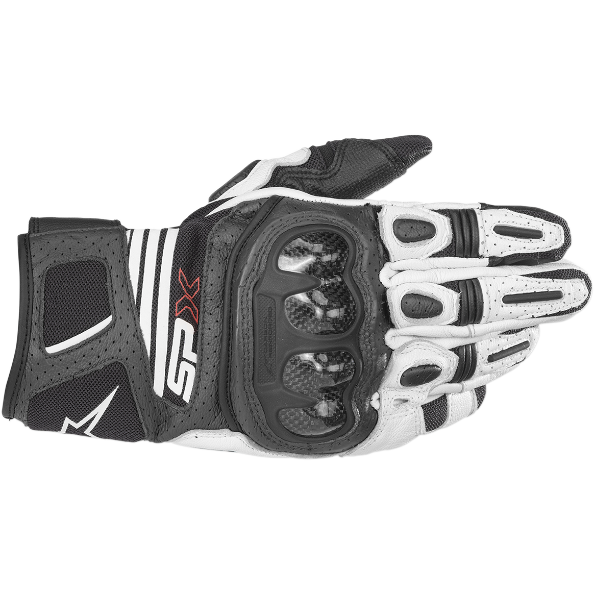 ALPINESTARS SP-X AIR CARBON V2 GLOVE - BLACK WHITE
