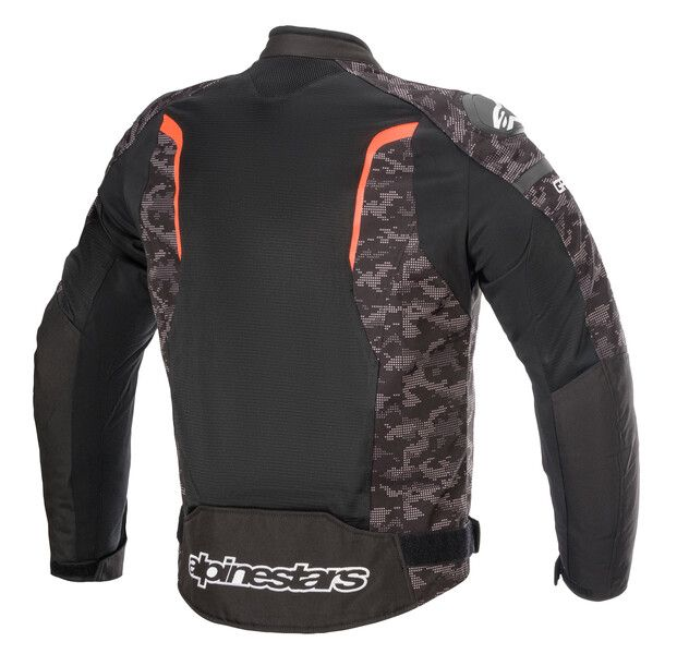 ALPINESTARS T-GP PLUS R V3 AIR JACKET - BLACK CAMO RED FLUO